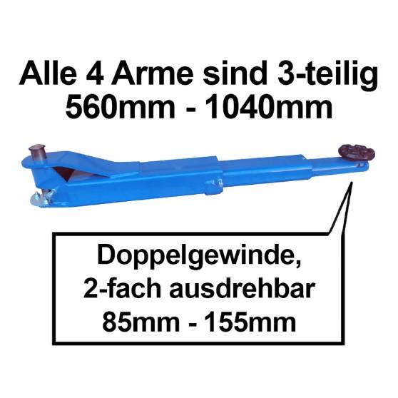 2 Säulenhebebühne - Maschinenhandel Schinagl An - und